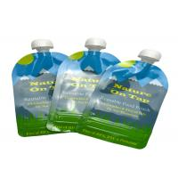 Buy cheap Smell Proof Spout Pouch Packaging , Custom Plastic Baby Food Pouches Jam Shaped product