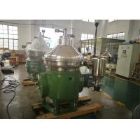 China Disc Stack Centrifuge / Mineral Oil Separator With Self Cleaning Bowl on sale
