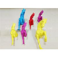 Buy cheap Life Size Window Display Decorations Wall Mounting Fiberglass Horse Statues product