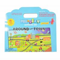 Buy cheap DIY Cartoon TPE Sticker Puzzle Play Game Set Reusable No Glue Stickers from wholesalers