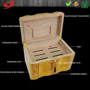 Buy cheap Сигара деревянный коробка (высококачественное)/сигара подгоняйте/дизайна сигарного ящика/деревянной коробки коробка сигары упаковывая product