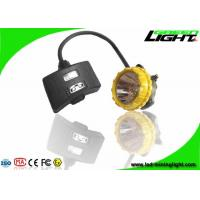 China Semi Corded Rechargeable LED Headlamp 15000lux 6.8Ah Big Capacity IP68 1.7W on sale