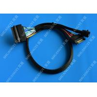 Quality Workstations Servers SFF 8643 To U.2 SFF 8639 Cable With 15 Pin SATA Power Connector for sale