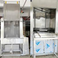 Buy cheap SUS 306 Rotate Spray PCL Control Large Automatic Big Spare Parts Ultrasonic Cleaning product