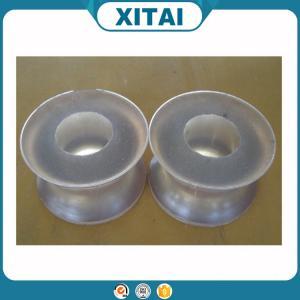 Buy cheap La fábrica de alta calidad suministró la rueda transparente material del poliuretano del poliuretano product