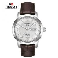 Buy cheap Mechanical 39mm Silver Case Watch Leather With Minutes Display product