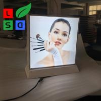 Buy cheap Double Side Desktop Light Box Picture Frame , LED Fabric Light Box Longlife product