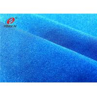 Buy cheap Garment Shiny Waterproof 4 Way Stretch Fabric , 95% Polyester 5% Spandex Fabric from wholesalers