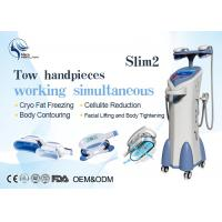 Buy cheap Vacuum Four Handles Coolsculpting Cryolipolysis Machine For Body Slimming product
