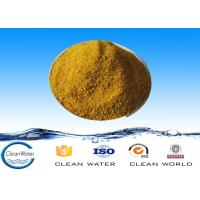 Buy cheap PFS-01 Electroplating Poly Ferric Sulphate yellow powder CAS No 10028-22-5 product