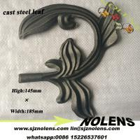 China Hebei Factory Casting Steel leaves Used For Iron Gate Fence Railing Decoration on sale