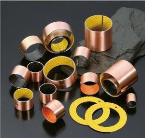 Buy cheap SF-2 glissant le joint en acier de douille d'usine de porcelaine de prix concurrentiel de bague de la poudre +POM d'en cuivre de la douille steel+ de bague product