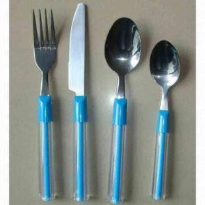 China PSのプラスチック ハンドルの食事用器具類 wholesale