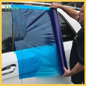 China Plastic Surface Protection Film Car Wrap Film Collision Wrap Crash Wrap For Auto Body on sale