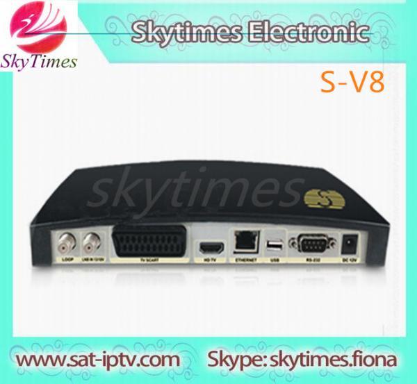Quality free arabic iptv channels skybox sv8 hd skybox s v8 dvb for