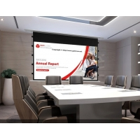 """Buy cheap In Ceiling Aluminum 100"""" Tab Tensioned Projection Screen product"""