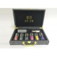 Buy cheap 7 Colors Organic Ink Permanent Makeup Tattoo Kit , Charmant Tattoo Machine  product