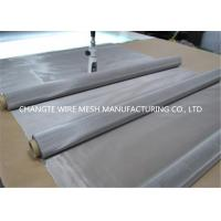 Buy cheap 30m Roll Length Stainless Steel Woven Wire Mesh / Metal Wire Mesh Bright Surface from wholesalers