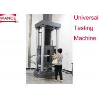 Static Hydraulic Universal Testing Machine , Tensile Strength Apparatus For Lab