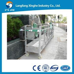 Cuna de elevación ZLP800/cuna apropiada de cristal del CE/plataforma de elevación de la limpieza de cristal en China
