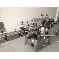 China Beer Bottle Double Side Sticker Labelling Machine , Automatic Sticker Labeling Machine wholesale