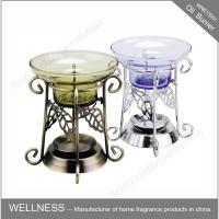 Buy cheap Non Electric Scented Oil Burner , Metal Essential Oil Burner Common Packaging product