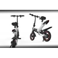 Buy cheap Smart Folding Bike Ergonomics Design , Multi Functional Foldable Electric Bike product