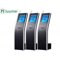 Buy cheap 17 Inch Wireless Queue Ticket Dispenser Machine Commercial Digital For Bank product