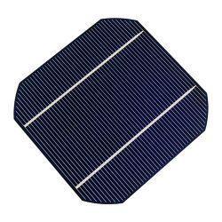 células solares Mono-cristalinas do silicone de 125*125mm
