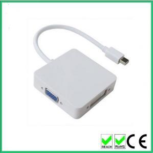Buy cheap 3 в 1 мини ДисплайПорт к переходнику кабеля Х ДМИ ДВИ ДисплайПорт для воздуха Яблока МакБоок МакБоок Про МакБоок product