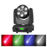 China 6 x 15W Cree 5 In 1 LED Moving Head Light Forced Air Convection 45°C 1400 mA on sale