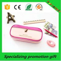 China Promotional PU Custom Printed Pencil Case / Bag For Teenagers on sale