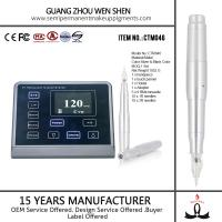 Buy cheap CTM046 LED 3D screen digital rotary permanent makeup eyebrow tattoo electronic pen product