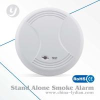Buy cheap 9V Stand Alone Battery Operated Photoelectric Smoke Detector Flash Alarm product