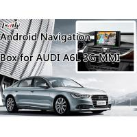 Buy cheap Car Android 6.0 Navigation Box for AUDI A6L 3G MMI with WIFI BT Mirror Link HD 1080P product