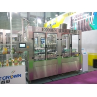 Buy cheap Stainless Steel 20000bph Glass Bottle Filling Machine product