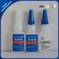 Buy cheap 496 20g Waterproof Clear Instant Cyanoacrylate Adhesive For Metal Substrate product