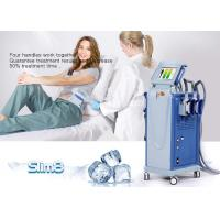 Buy cheap Cellulite Reduction Cryolipolysis Machine 4 Handpiece Fat Freezing Machine product