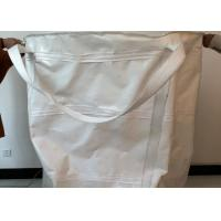 Buy cheap Anti UV / Chemicals Reusable Jumbo Bag With Cross Corner / Fully Belted Liftings product