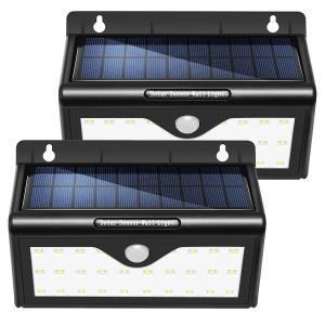 China Wall Mounted Waterproof Motion Sensor Solar LED Garden Lights / Solar Wall Light on sale