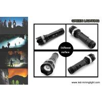 Buy cheap 10W High Power LED Flashlight Torch Rechargeable 2200mAh Li - Ion Battery product