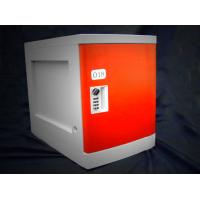 Buy cheap Anti Rust / Anti Water Red ABS Plastic Lockers 4 Tier For Employee Keyless product