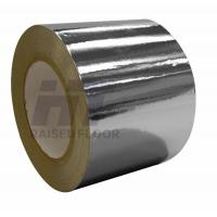 Buy cheap Waterproof Reinforced Aluminium Foil Tape  Anti Rust For Raised Floor Cut Edge Side product