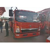 Buy cheap 12 T Loading Capacity Sinotruk HOWO Light Duty Trucks 3.76L Engine Displacement from wholesalers