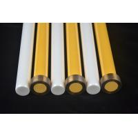 Buy cheap Zirconia Ceramic Plunger High Precision 22.22 * 207MM White / Yellow product