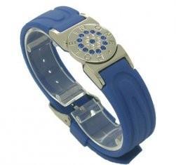 Íon personalizado da mistura do tamanho, infravermelho, turmalina, bracelete do silicone da energia do ímã etc.