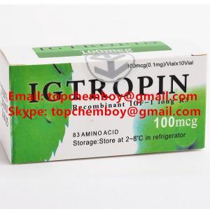 China 99% purity IGF-1 LR3 Peptide  CAS NO.12629-01-5 Legit safe Growth Hormone IGF 1 for Bodybuilding on sale