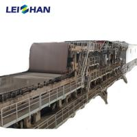 China Occ Waste Kraft Paper Making Machine Recycling Production Line 1 Year Warranty on sale