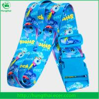Buy cheap 2017 cheap promotional fashion printed luggage strap with buckle wholesale product