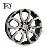 Buy cheap 14 Inch - 17 Inch Gloss Black Cast Alloy Wheels Alloy Rims With Red Lip product